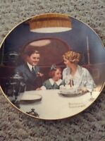 VINTAGE Norman Rockwell Collectible Plates
