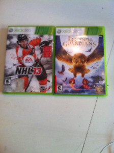 Two Xbox 360 Games for sale