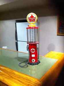 Vintage gas pump liquor dispenser