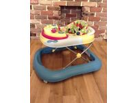 Chicco Baby Walker Lights Music Activity Play Feeding Tray