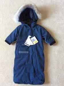 New with tags Canada Goose Baby Bunting Bag, 6-12 mos