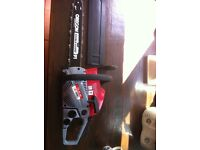 "Brand new 16"" chainsaw"