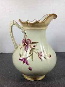Vintage Carton Ware W&R Stoke On Trent chamber pitcher Cambridge Kitchener Area image 5