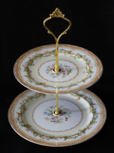 NORITAKE TIERED CAKE STANDS &  BOWLS - OLYMPIA