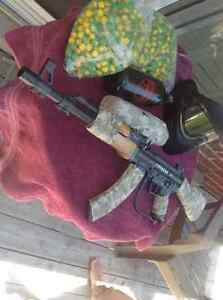 Tippmann A5. AK47 with optional wood and camouflage. Kawartha Lakes Peterborough Area image 2