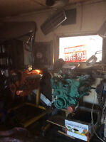 2 engine one 383 HP RR 68  one 426 S wedge 65 with Transmission