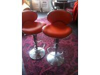Retro stylish swivel chairs
