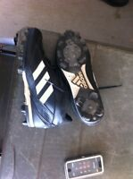 Men's Adidas Poweralley mid cleats