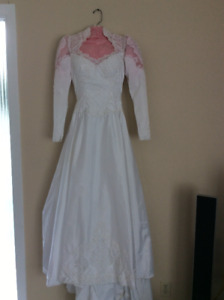 Wedding Dress - Long Sleeved