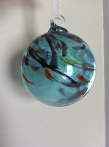 Hand Blown Glass Friendship Ball
