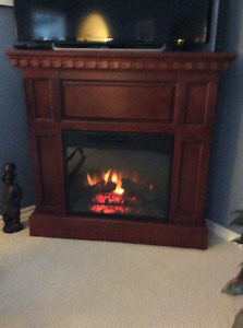 Electric fireplace reduced moving must sell