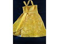 Karen Millen mustard dress