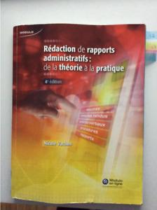 Rédaction de rapports administratif: de la théorie à la pratique