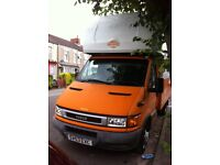 Iveco high top 2,300cc Turbo Diesel