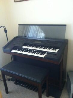 Yamaha electrone Organ & stool Forster Great Lakes Area Preview