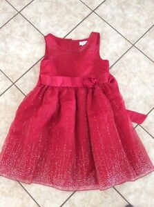 Claire Bell - Red Dress (satin with Sparkle Accents) size 10/12 Kitchener / Waterloo Kitchener Area image 1