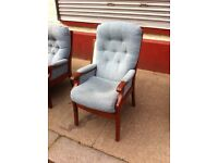 Fireside armchair / free Glasgow delivery