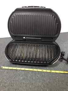 George Foreman Lean Mean Fat Reducing Grilling Machine Cambridge Kitchener Area image 2