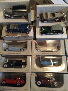 Complete Brand New In Box Die Cast Car set