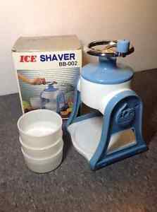 Vintage Large Volume Ice Shaver - NEW IN BOX