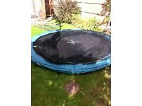 10 ft trampoline, used, good condition, RRP £150