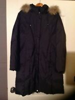 Down filled 3/4 lenght winter jacket