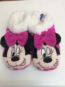 Slippers Ladies Minnie Mouse & Mickey Mouse