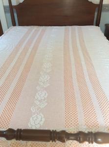 Queen Size Crocheted Bedspread