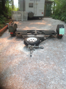 """Used Heavy duty Car Dolly 2"""" ball Located in Washington State"""