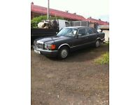 WANTED Mercedes W126, any Model or Condition. Will travel to collect. Cash waiting.