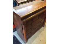 LARGE CHEST OF DRAWERS FOR SALE (deco - antique)...