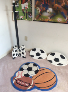 Soccer themed items