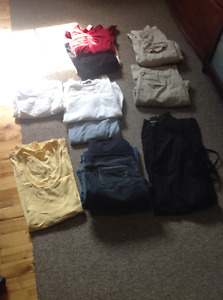 Tops, pants, jeans, dress-small, med and large