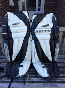 "34"" Bauer Goalie Pads, Very Good Condition"
