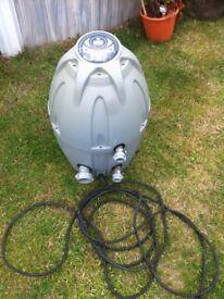 Best way heater and pump for a spa