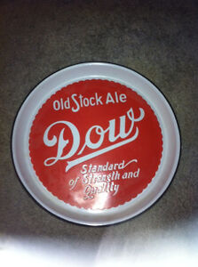 Tin Sign , Dow Old Stock Ale