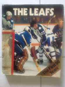 Toronto Maple leafs first 50 years of hockey book