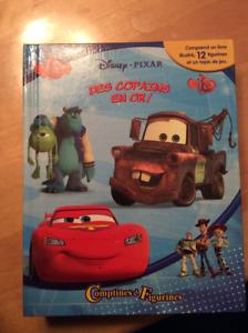 Figurines Flash McQueen, Monster inc., histoire de jouet