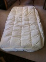 Feather beds twin size.  (2)