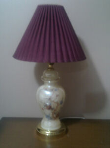 Lamps (2) for night tables.