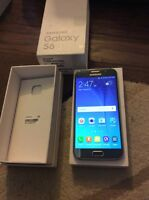 Blue Samsung Galaxy s6 unlocked works with any carrier