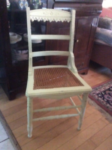 Collection of antique chairs!   Mix & match!