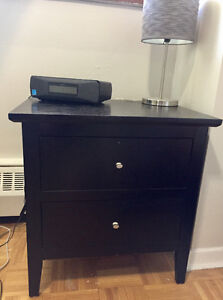 Selling a black nightstand in great condition!!