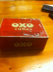 Oxo cubes original tin