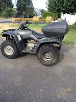 2001 Honda Fourtrax 350 Ready for hunting