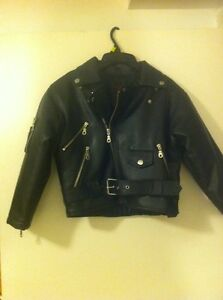 Children's leather jacket size 7