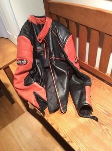 All Leather Motorcyle Jacket