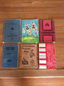 Older Boy Scout Girl Guide Brownie Books