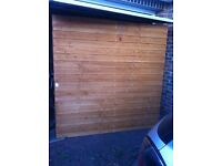 Garden fence closeboard
