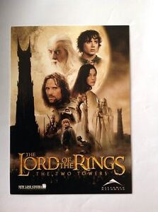 Lord of the Rings The Two Towers unused ticket